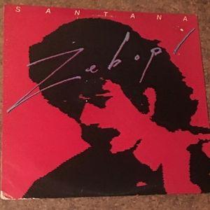 Vintage Santana Zebop Vinyl LP Album